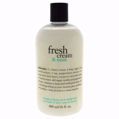 Philosophy Fresh Women Shampoo Shower Gel  Bubble Bath 16 oz