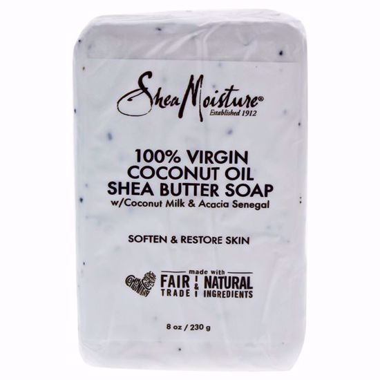 Shea Moisture Coconut Oil Shea Butter Soap Bar Unisex 8 oz