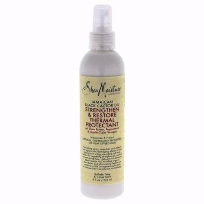 Shea Moisture Jamaican Black Castor Oil Thermal Protectant Spray Unisex 8 oz - Hair Styling Products | Hair Styling Cream | Hair Spray | Hair Styling Products For Men | Hair Styling Products For Women | Hair Care Products | AromaCraze.com