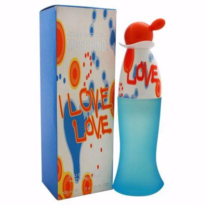 Love by Moschino Women EDT Spray 3.4 oz