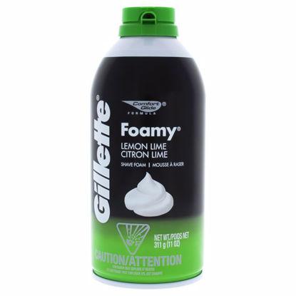 Gillette Comfort Glide Lemon Lime Men Shave Foam 11 oz