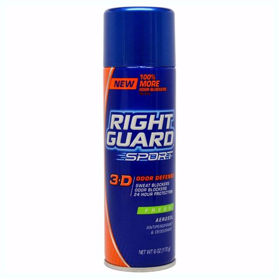 Right Guard Antiperspirant Deodorant Aerosol Spray Unisex 6