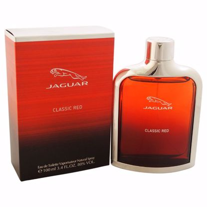 Jaguar Classic Red Men EDT Spray Men 3.4 oz
