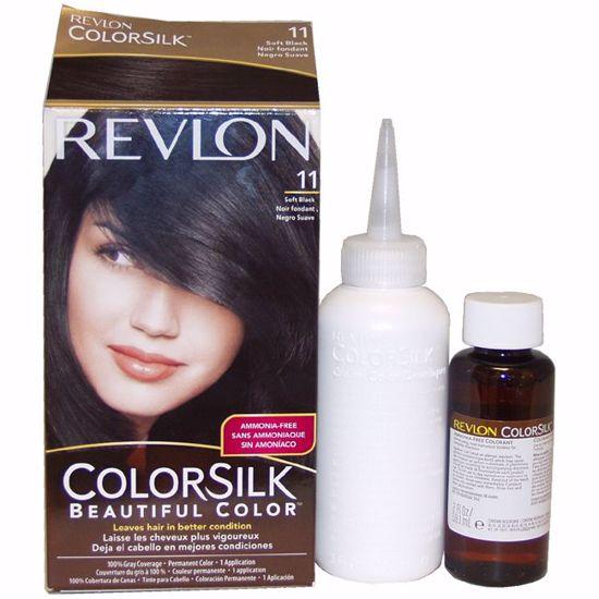 Revlon Soft Black Hair Color Unisex 1 Application