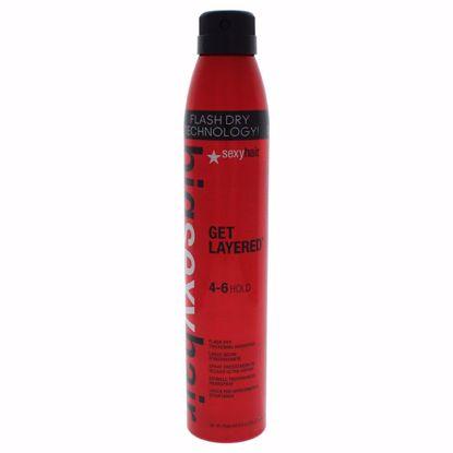 Sexy Hair Get Layered - Flash Dry Thickening Hair Spray Unis