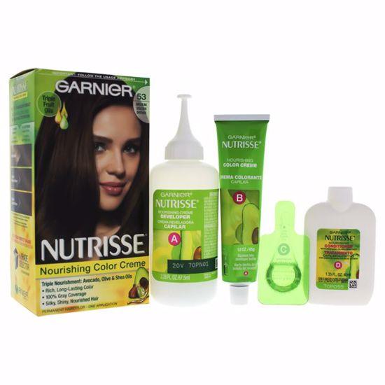 Garnier Nutrisse Nourishing Golden Brown Hair Color Unisex 1