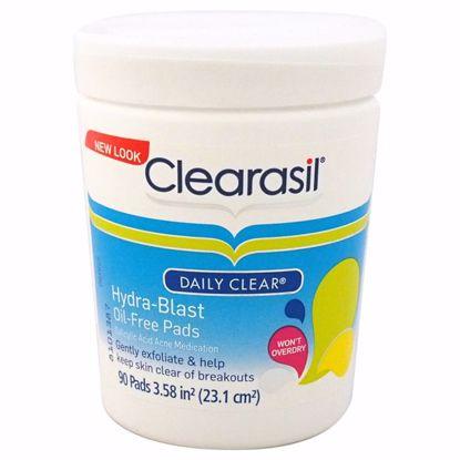 Clearasil Hydra-Blast Oil-Free Pads Unisex 90 Pc