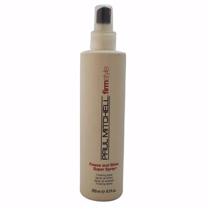 Paul Mitchell Freeze Shine Super Hair Spray Unisex 8.5 oz - Hair Treatment Products | Best Hair Styling Product | Hair Oil Treatment | Damage Hair Treatment | Hair Care Products | Hair Spray | Hair Volumizing Product | AromaCraze.com