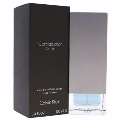 Calvin Klein Contradiction Men EDT Spray 3.4 oz
