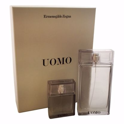 Ermenegildo Zegna Uomo Gift Set for Men 2 pc