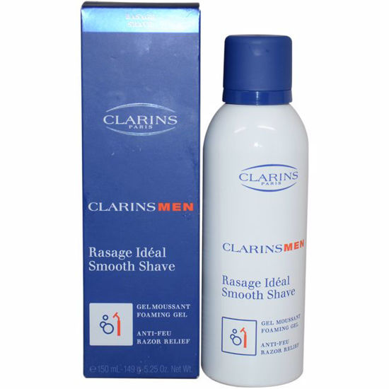 Clarins Smooth Shave Foaming Gel for Men 5.25 oz