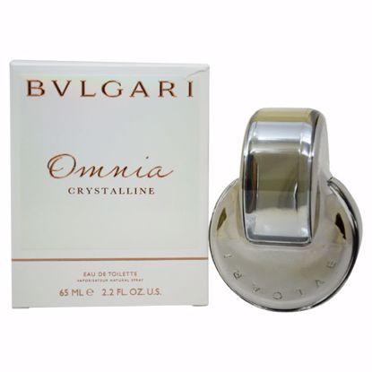 Bvlgari Omnia Crystalline Women EDT Spray 2.2 oz