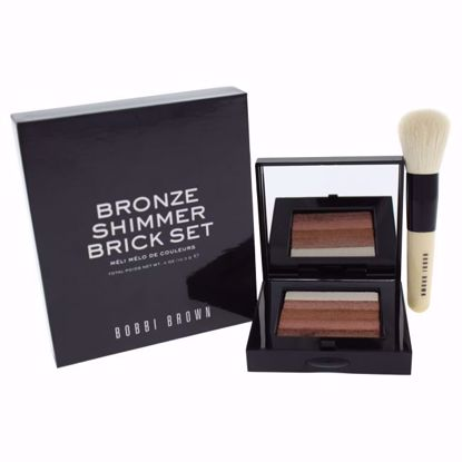 Bobbi Brown Shimmer Brick Compact Women 2 Pc - Makeup Kits | Makeup Sets for Women | Womens Makeup Kit | Makeup Gift Sets | Makeup Kit Brands | Makeup Set For Beginners | Professional Makeup Kits For Sale | AromaCraze.com