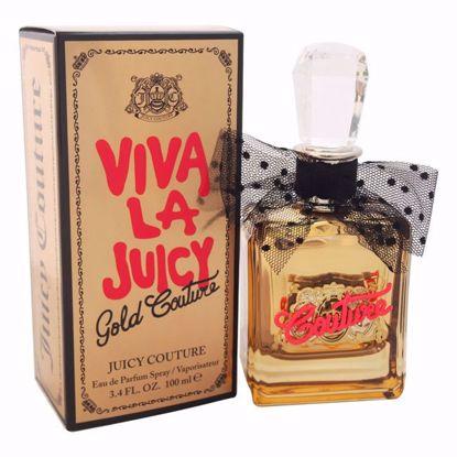 Juicy Couture Viva La Juicy Gold Couture Women EDP Spray 3.4