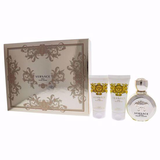 Versace Eros Pour Femme Gift Set for Women 3 pc