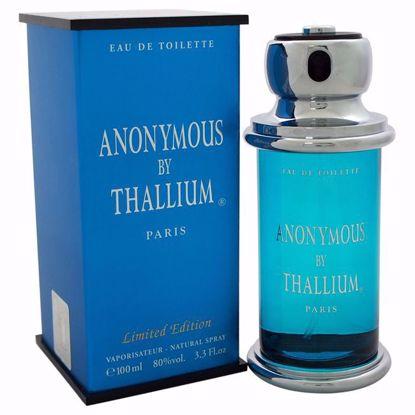 Yves De Sistelle Anonymous Thallium Men EDT Spray 3.3 oz