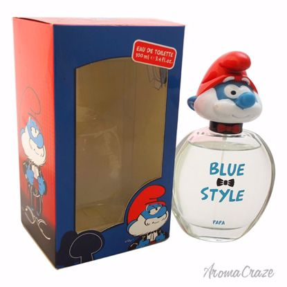 First American Brands The Smurfs Blue Style Papa EDT Spray f