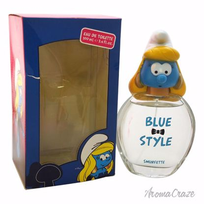 First American Brands The Smurfs Blue Style Smurfette EDT Sp