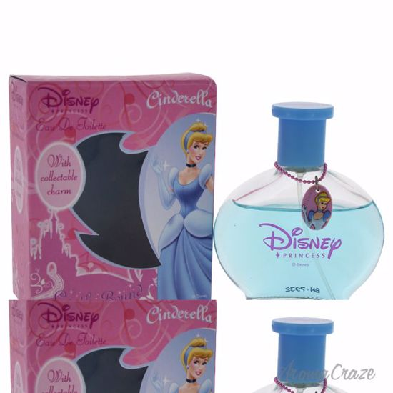 Disney Cinderella EDT Spray (with Charm) for Kids 1.7 oz