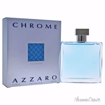Loris Azzaro Chrome EDT Spray for Men 3.4 oz