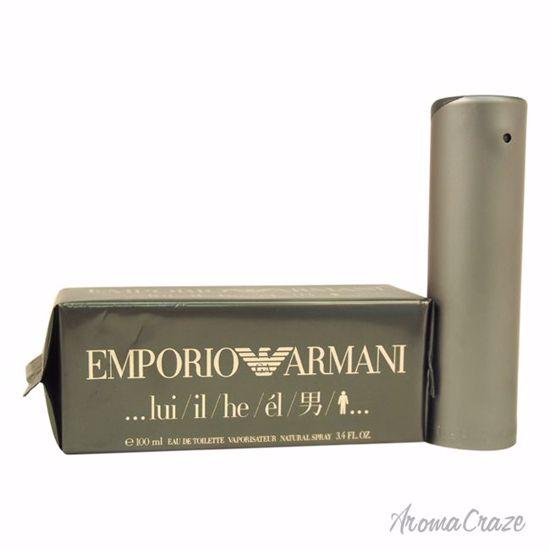 Emporio Armani By Giorgio Armani EDT Spray for Men 3.4 oz