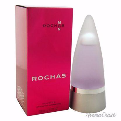 Rochas Man EDT Spray for Men 3.4 oz