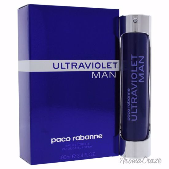 Paco Rabanne Ultraviolet EDT Spray for Men 3.4 oz