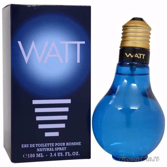 Cofinluxe Watt Blue EDT Spray for Men 3.4 oz