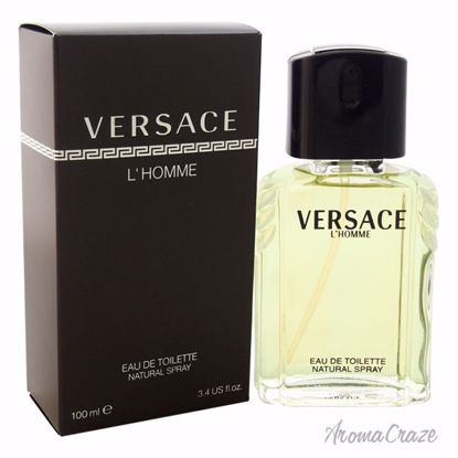Versace L'Homme by Versace EDT Spray for Men 3.3 oz