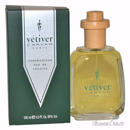 Vetiver Carven by Carven EDT Spray for Men 3.4 oz
