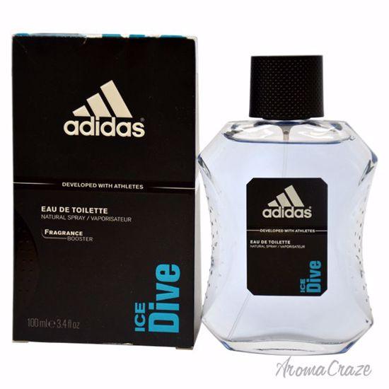 Adidas Ice Dive EDT Spray for Men 3.4 oz