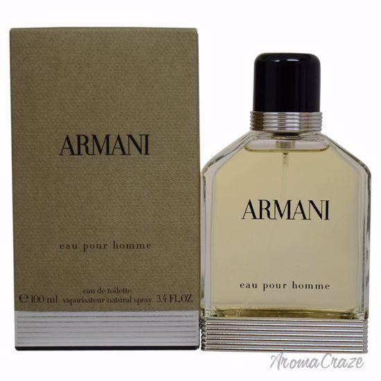 Armani by Giorgio Armani EDT Spray for Men 3.4 oz