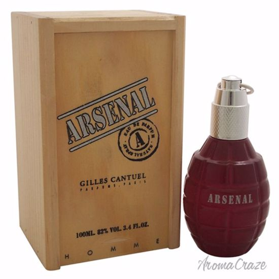 Gilles Cantuel Arsenal Red EDP Spray for Men 3.4 oz