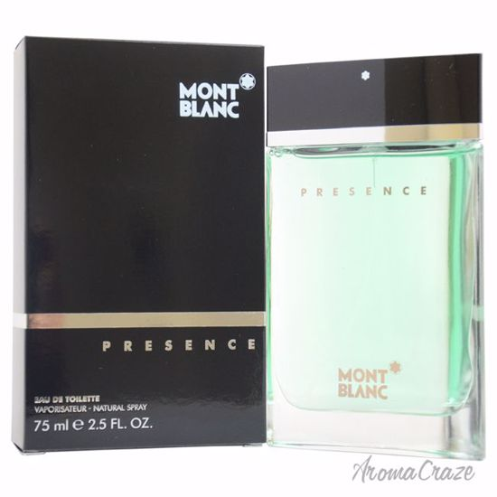 Mont Blanc Presence EDT Spray for Men 2.5 oz