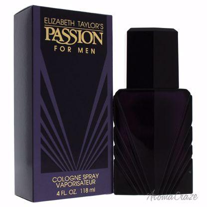 Elizabeth Taylor Passion EDC Spray for Men 4 oz