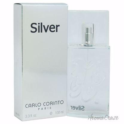 Carlo Corinto Silver EDT Spray for Men 3.3 oz