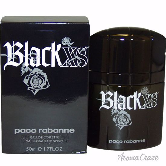Paco Rabanne Black XS EDT Spray for Men 1.7 oz