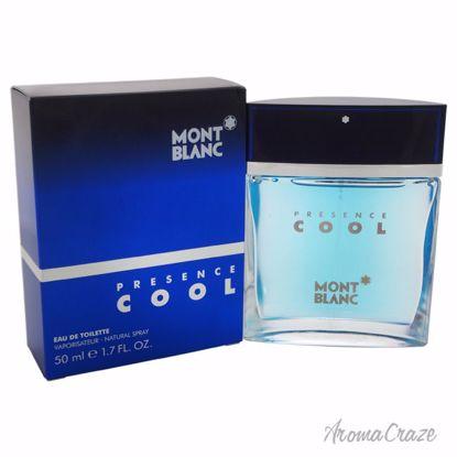 Mont Blanc Presence Cool EDT Spray for Men 1.7 oz