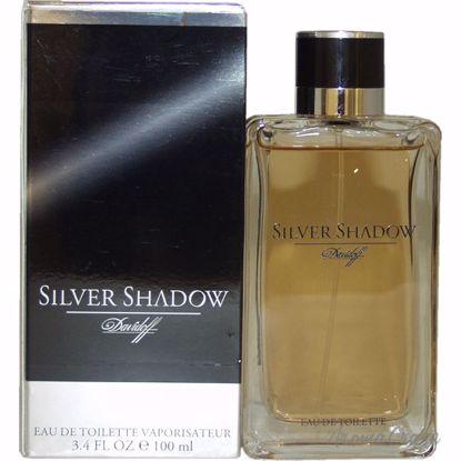 Zino Davidoff Silver Shadow EDT Spray for Men 3.4 oz