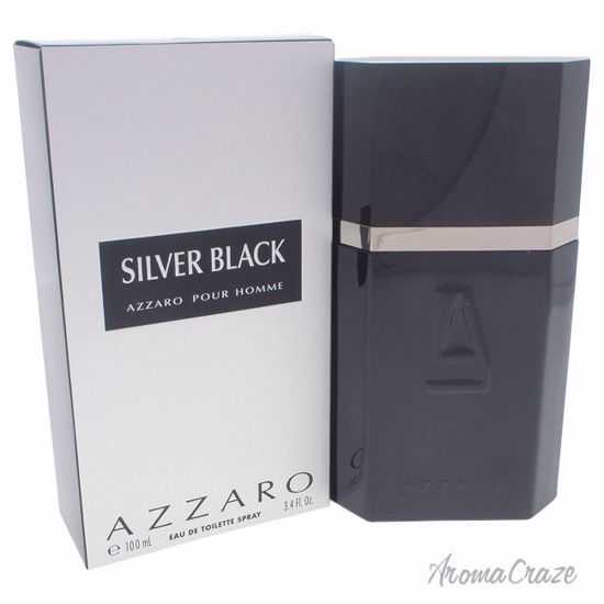 Loris Azzaro Silver Black EDT Spray for Men 3.4 oz