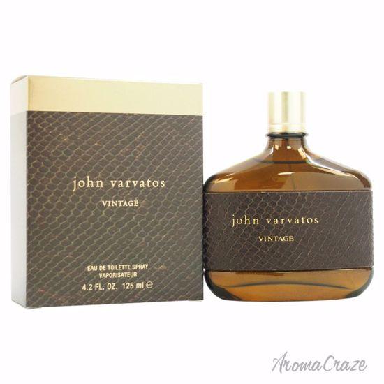 John Varvatos Vintage EDT Spray for Men 4.2 oz