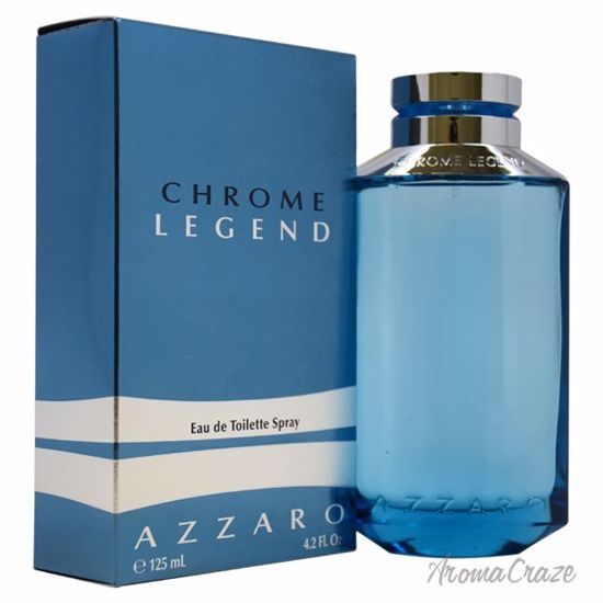Loris Azzaro Chrome Legend EDT Spray for Men 4.2 oz