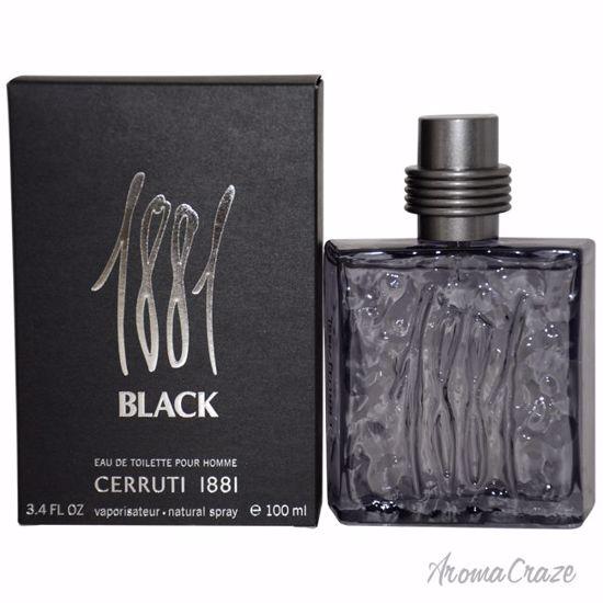 Nino Cerruti 1881 Black EDT Spray for Men 3.4 oz