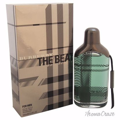 Burberry The Beat EDT Spray for Men 3.3 oz