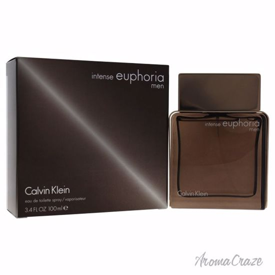 Calvin Klein Euphoria Intense EDT Spray for Men 3.4 oz