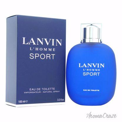 Lanvin L'homme Sport EDT Spray for Men 3.4 oz