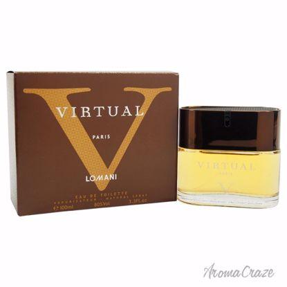 Lomani Virtual V EDT Spray for Men 3.4 oz