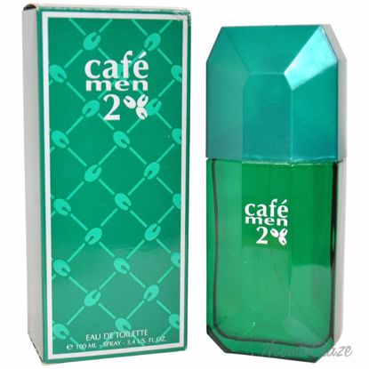 Cofinluxe Cafe Men 2 EDT Spray for Men 3.4 oz