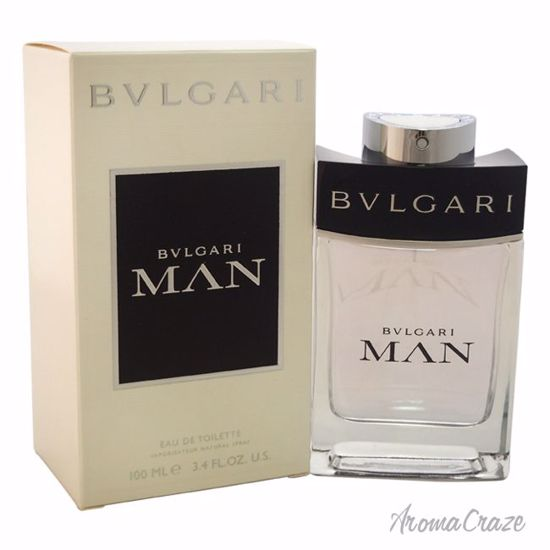 Bvlgari Man EDT Spray for Men 3.4 oz