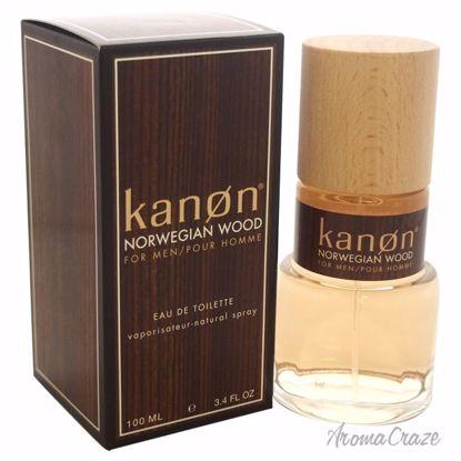 Kanon Norwegian Wood EDT Spray for Men 3.3 oz